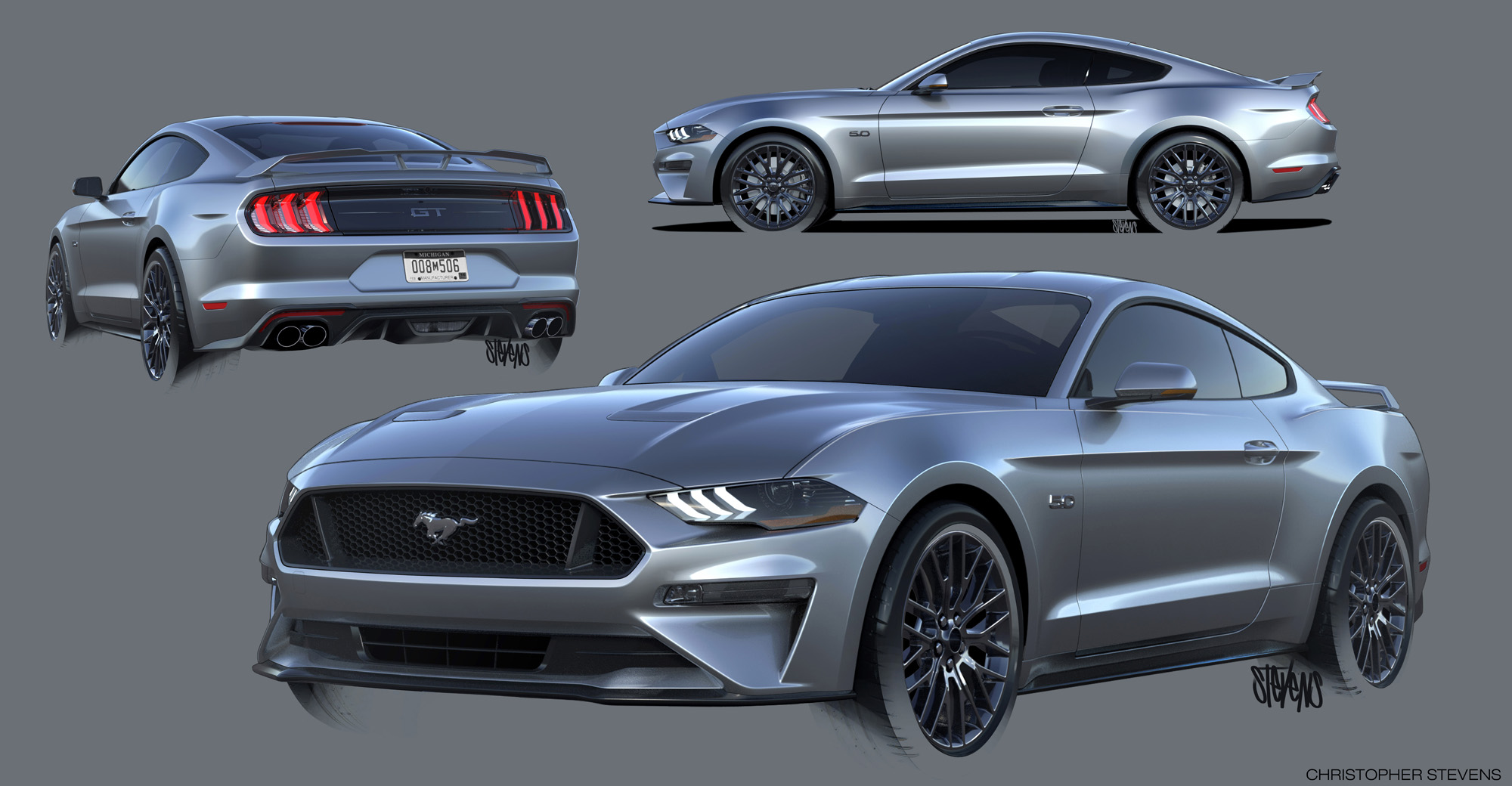 Ford Mustang Fuse Diagram 2018 Ford Mustang Design Sketch Mustangforums