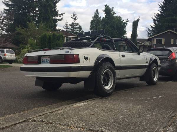 Fox Body Mustangs For Sale On Craigslist - Year of Clean Water