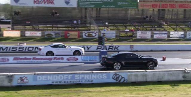 Ford Mustang GT vs Camaro ZL1