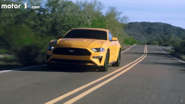 Watch the 2018 Mustang GT get its close up.