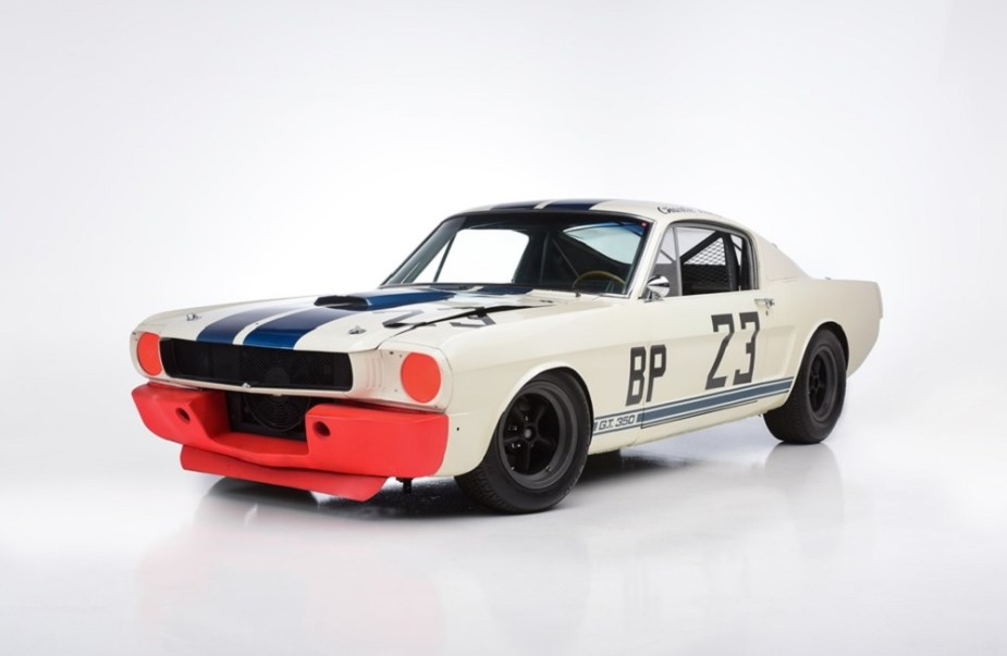 1965 Shelby GT350R Mustang Race Car