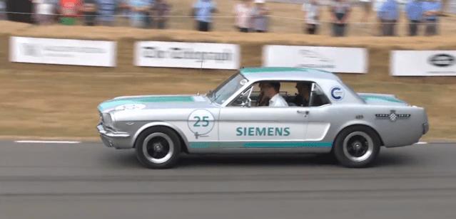 Self Driving 1965 Mustang