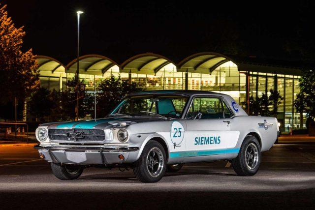 1965 Siemens Autonomous Mustang