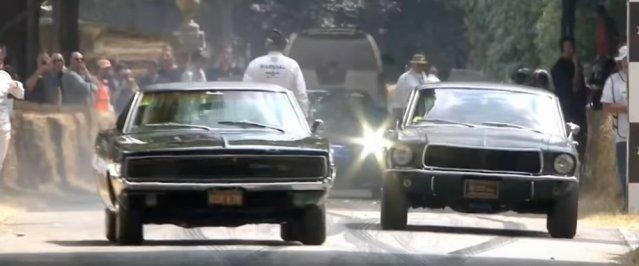 Bullitt Mustang and Charger