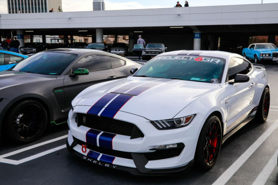 Carroll Shelby Cruise-In at the Petersen - Shelby Mustang GT350