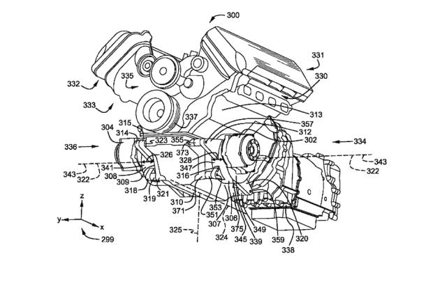 2019 Ford V8-Hybrid patent.