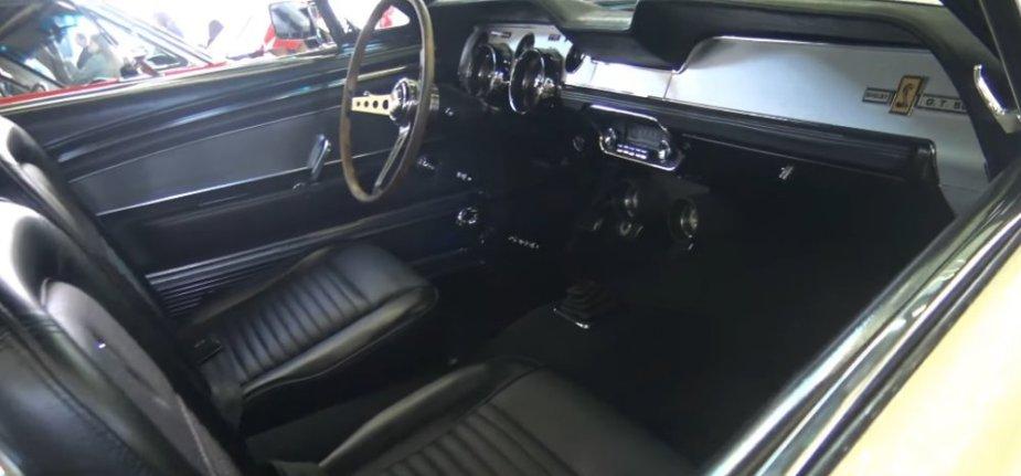 1967 Mustang GT500 Interior