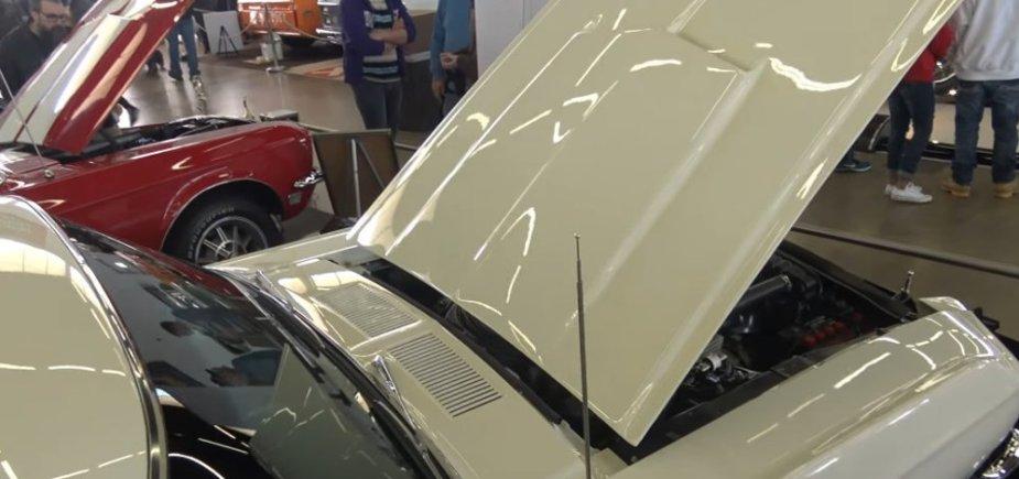 1967 Mustang GT500 Hood