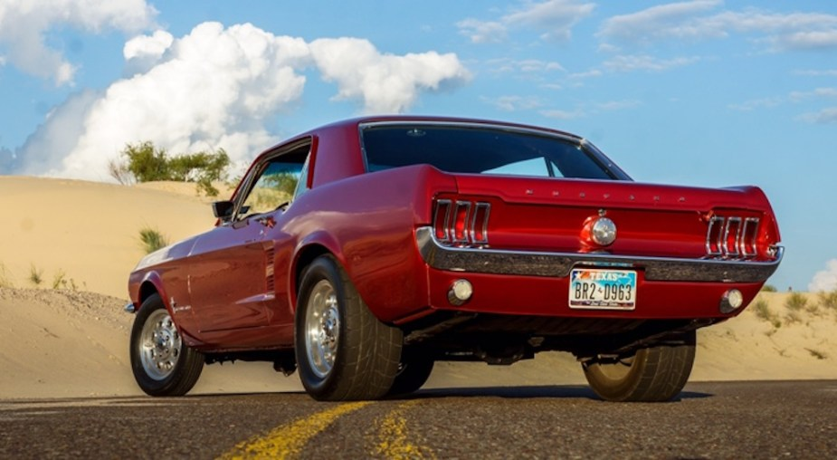 Jason Terry's 1967 Ford Mustang restomod