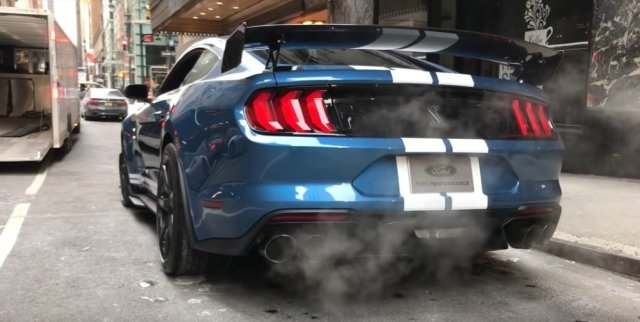 2020 Shelby GT500 Exhaust Notes Rear Driver Side