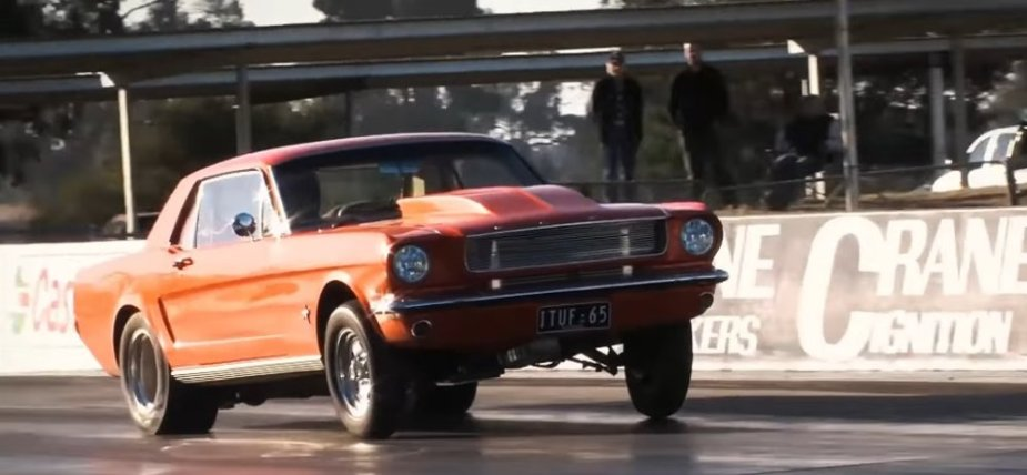 1965 Ford Mustang LPG Record