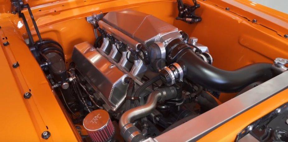 Mustang Twin Turbo V8