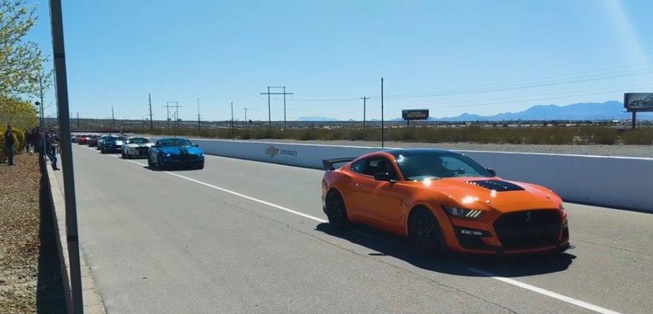 Mustang Parade