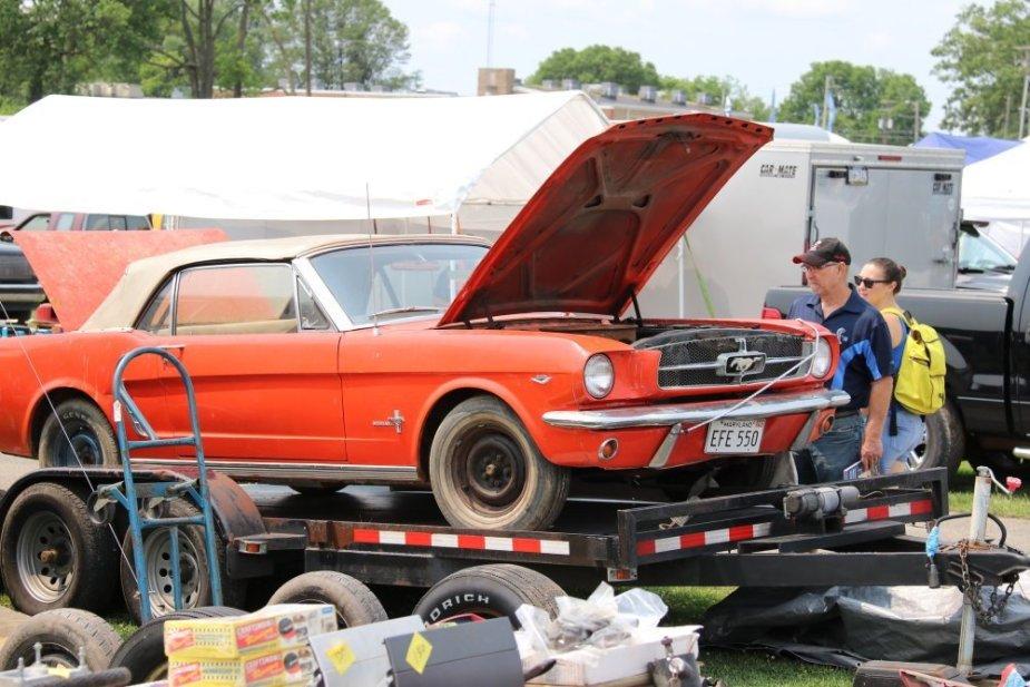 Carlisle All-Ford Nationals Mustang