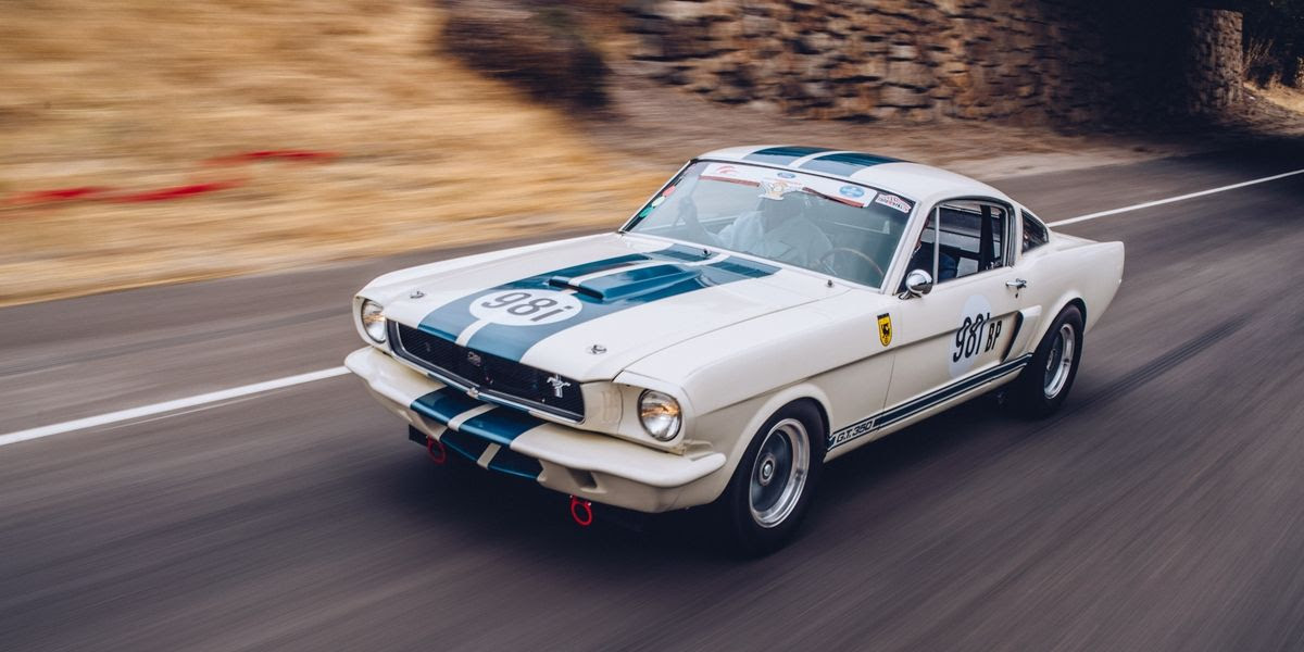 Road & Track: Driving the World's Most Perfect 1965 Ford Mustang Shelby GT350R