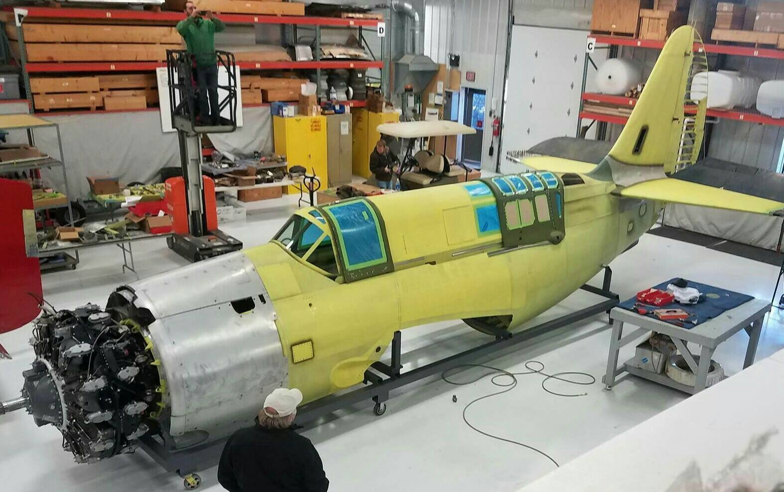 Curtiss Navy Helldiver Project