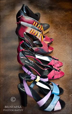 I shot these lovely shoes in Butik Lilian, Turku