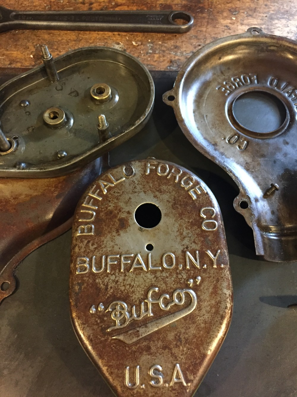 Buffalo Forge Blower Rebuild