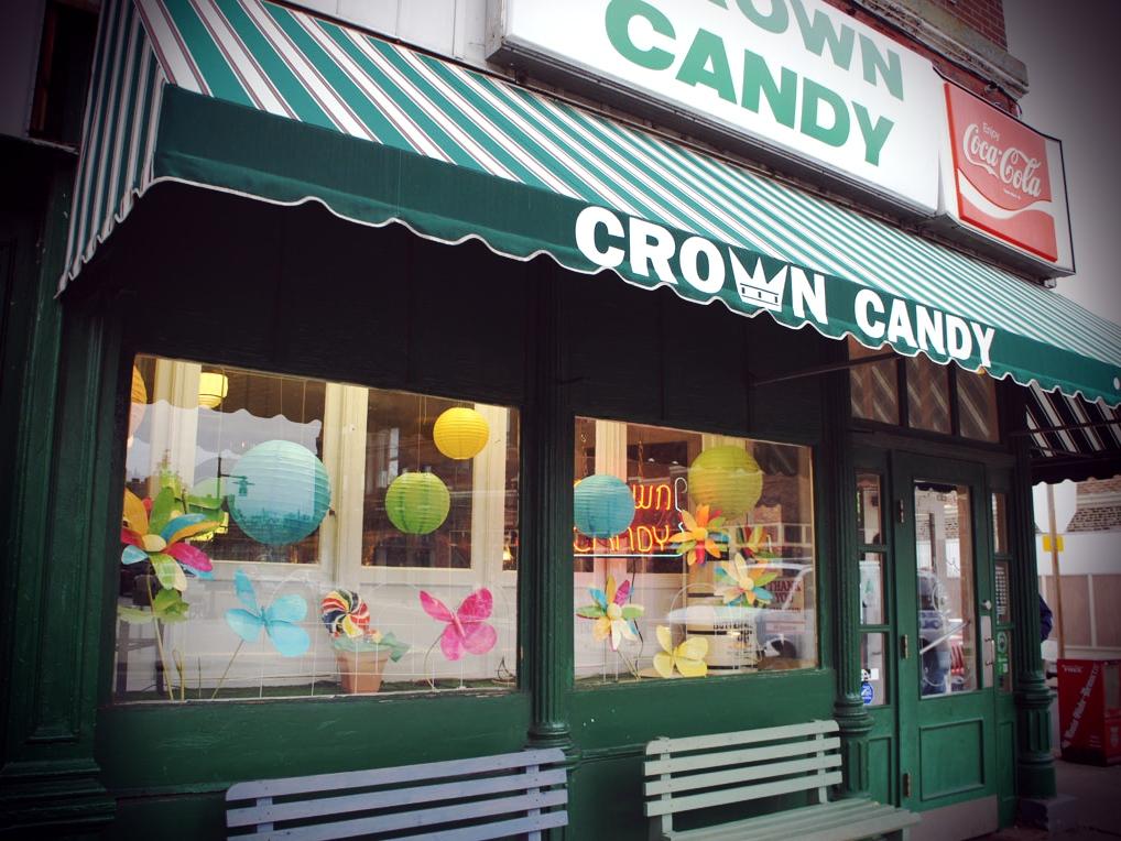 Adventuring Stateside Crown Candy Kitchen in North St Louis  mustbewanderlust