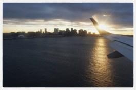 Home to Boston