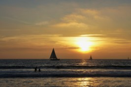 On January 1, 2012, I was watching the sunset on Venice beach with good friends before setting back off to Sydney