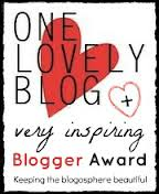 very inspring blogger award