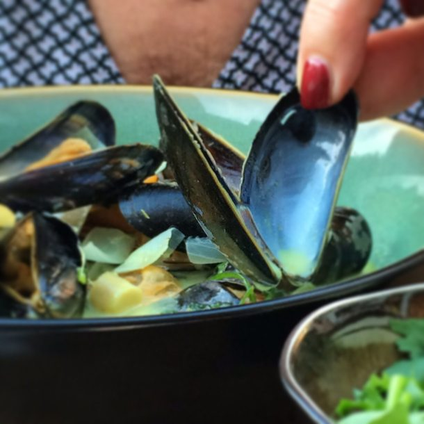 Mussels from Antwerp