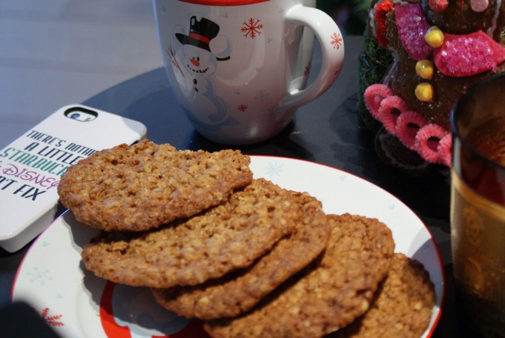 So yummie - cookies and Chai Latte, gluten free, diary free, oatmeal