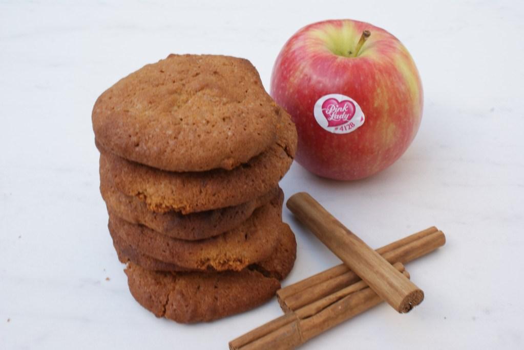 Pink Lady koekjes met notenboter