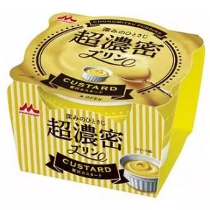 森永 超濃密布丁 奢華奶黃 cup75g