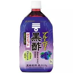 MIZKAN 藍莓黑醋減重Straight 1000ml