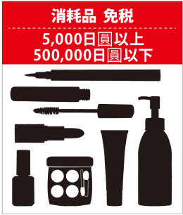 在日本以免稅方式購買商品的流程