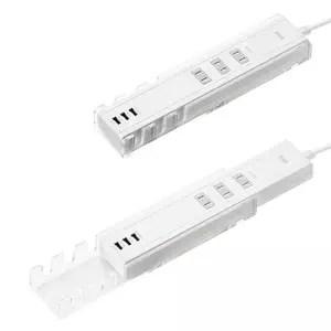 附有手機/平板支架的與USB充電的延長線