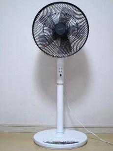 5000日幣以內就能買到的高腳型電風扇