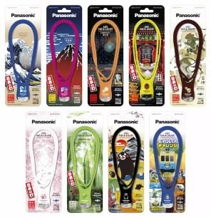 Panasonic LED項鍊燈,增加雷門、熊本熊等新款式