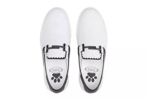 TOD'S新年限定懶人休閒運動鞋☆ 2018生肖年象徵「狗的腳印」