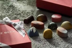 米其林指南1星殊榮☆HEINZ BECK的鑽石與富士山造型巧克力