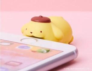 咬住不放的三麗鷗卡通人物☆「CABLE BITE」新商品iPhone傳輸線保護裝飾