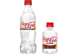 日本限定☆透明可口可樂「Coca・Cola CLEAR」6月11日起開賣!
