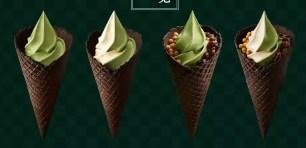 MINISTOP便利商店史上最濃郁!「宇治抹茶霜淇淋」與升級加配料版