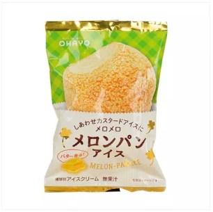 去年大熱銷✧˖° OHAYO乳業「蜜瓜麵包冰淇淋」再度登場!日本全家便利商店數量限定販售中~