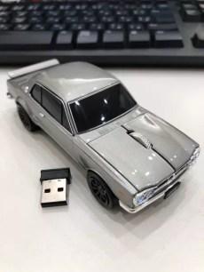 經典車款再現!掌握手中暢遊網路的「日產Skyline GT-R 無線滑鼠」