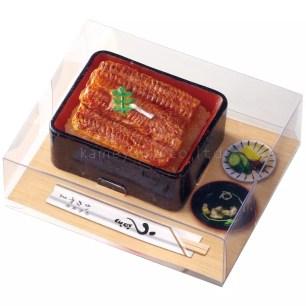 講究細節的寫實逼真感!Kameyama‧「鰻魚重箱飯盒蠟燭」
