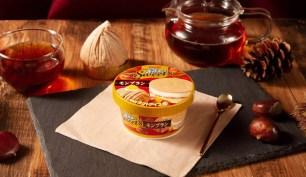 豪華4層結構的秋季新商品♡「明治 Essel Super Cup Sweet's 蒙布朗」
