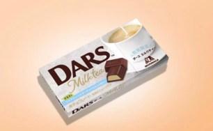 茶香滿溢的迷人風味!森永DARS巧克力♡期間限定<奶茶口味>