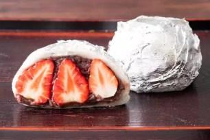 百年老字號和菓子☆大角玉屋 銀座店的數量/期間限定甜點「年末JUMBO銀座大福」