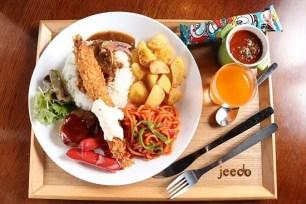 東京・三田車站☆僅在午餐時段營業的大人版兒童餐專售店「jeecors」
