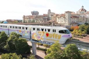 東京迪士尼度假區♡1月10日起登場!新款單軌電車「Duffy and Friends Liner」