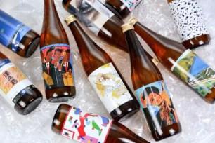 歷史悠久日本酒釀製廠「沢の鶴」與藝術家們合力推動☆「THE ART LABEL SAKE 企劃」