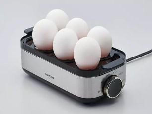 小泉成器KOIZUMI☆省力方便的3種熟度水煮蛋蒸蛋器「Egg Steamer KES-0400/S」